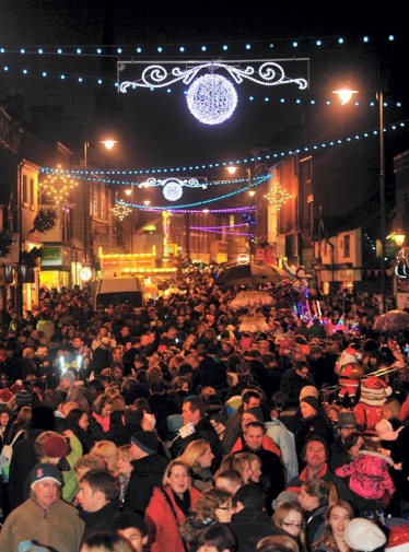 Leek Lights Switch On